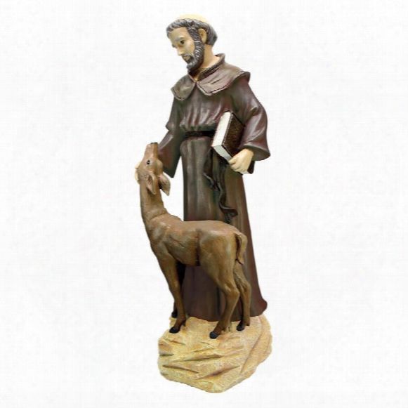 St. Francis Peaceful Presence Statue: Large