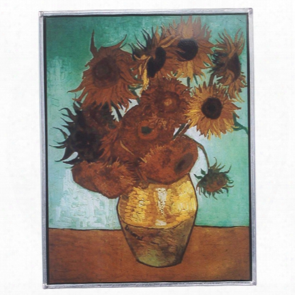 Sunflowers, 1888 Art Glass