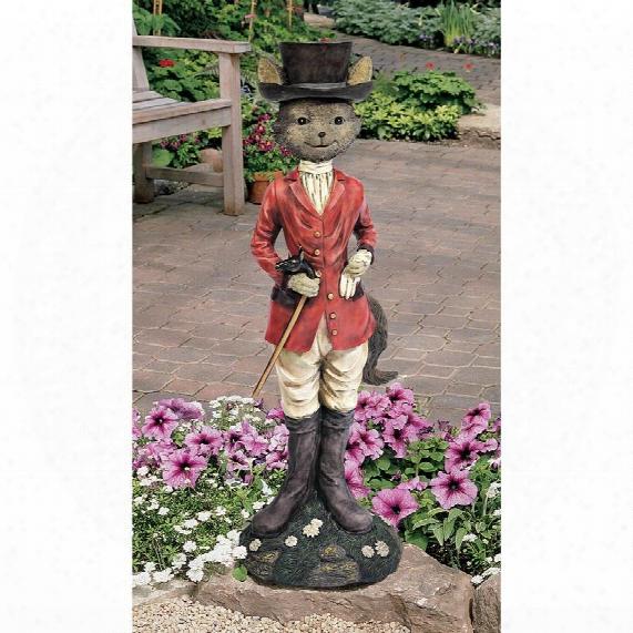 Tally-ho Equestrian Fox Hunt Statue
