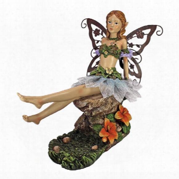 Teasing Tessa, The Fairy Statue