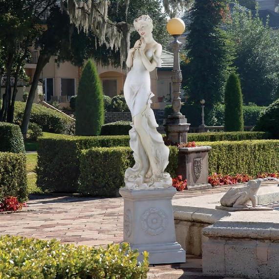 Thalia, Muse Of The Garden Oversized Sculpture