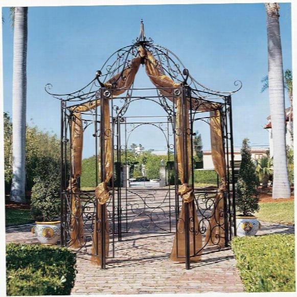 The Amelie Architectural Steel Garden Gazebo
