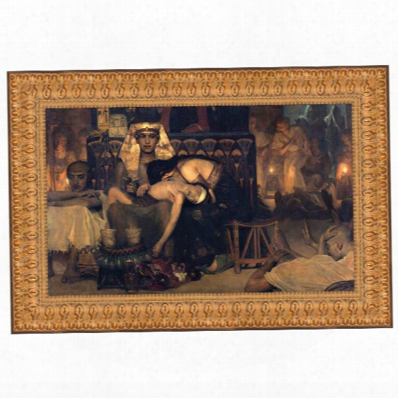 The Death Of The Pharaoh's Firstborn Son, 1872: Canvas Replica Painting: Grande