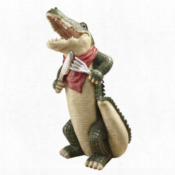 The Gator Gourmet Statue