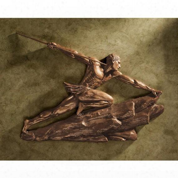"""The Hunter"""" Sculptural Wall Frieze"""