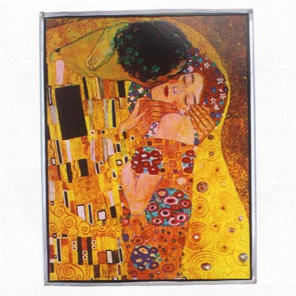 The Kiss, 1908 Art Glass