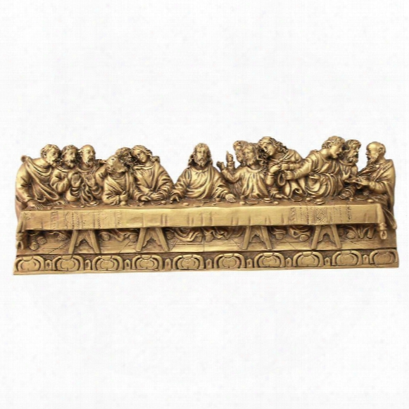 The Last Supper Detailed Version, Leonardo Da Vinci Wall Sculpture