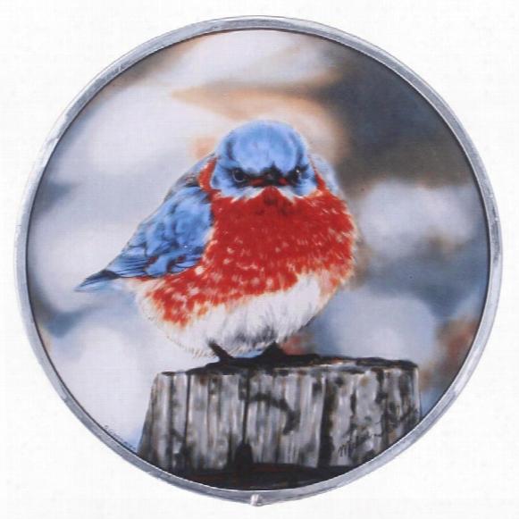 The Mad Bluebird Art Glass