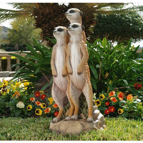 The Meerkat Gang Sculpture: Large