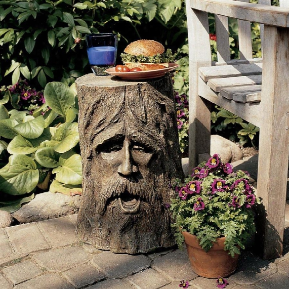 The Odin Tree Stump Sculptural Table