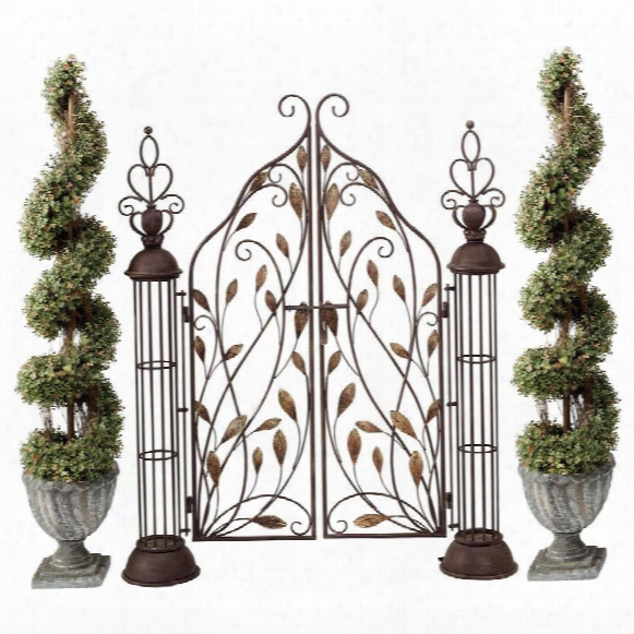The Princess' Entryway Metal Garden Gate