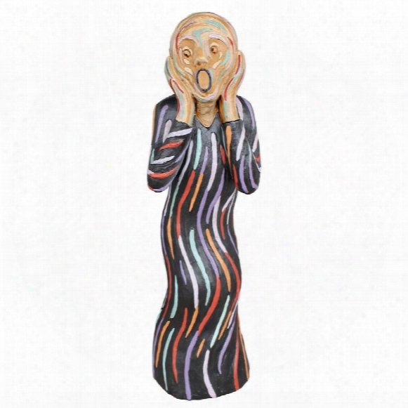 The Silent Scream Statue: Large