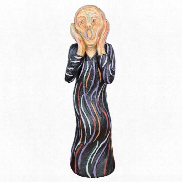The Silent Scream Statue: Medium