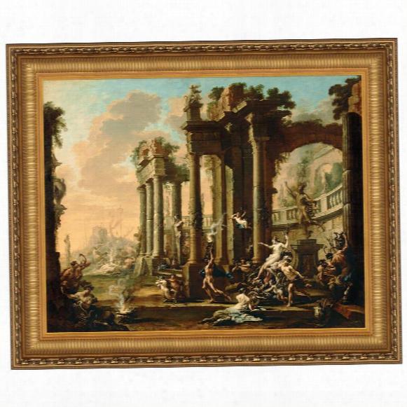 The Triumph Of Venus, 1730: Canvas Replica Painting: Grande