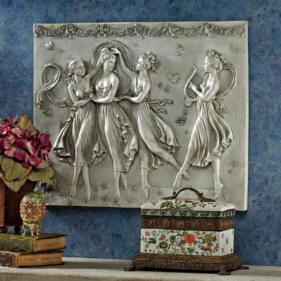 Three Graces Dancing Wall Sculpture