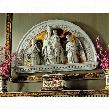 """Blessed Union"""" Renaissance Arch Sculptural Lunetta"""