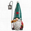 Moe the North Pole Gnome Holiday Statue
