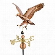 Soaring Eagle Full-Size Copper Weathervane