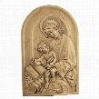 St. Anne, Patron Saint of Grandmothers Wall Sculpture