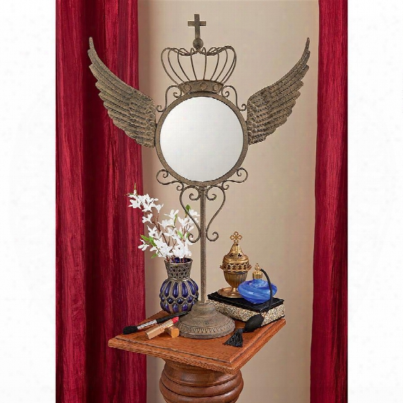 Winged Gothic Mirror Of Dreams
