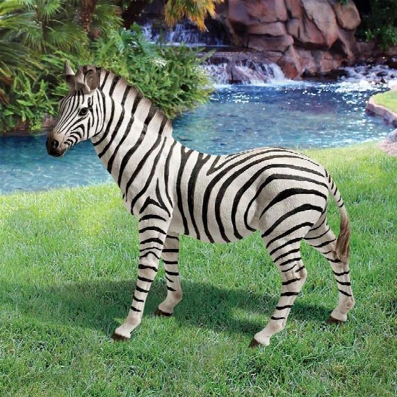 """Zora, The Zebra"""" Statue"""
