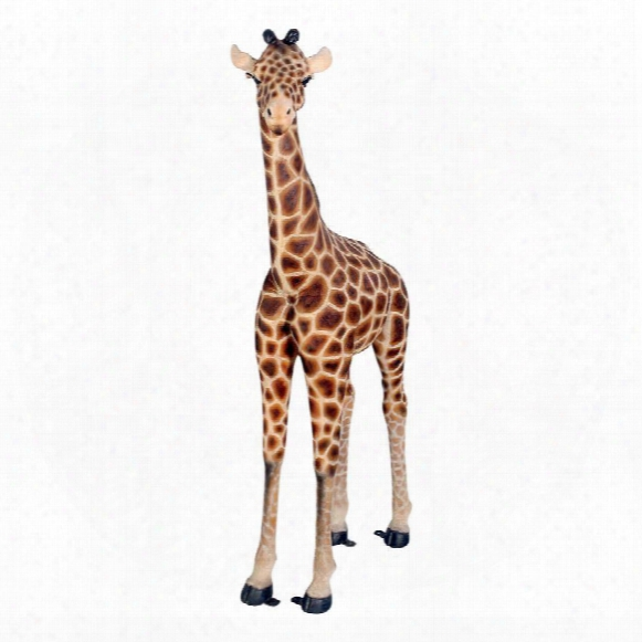 Baako Grand Scalebaby Giraffe Garden Statue