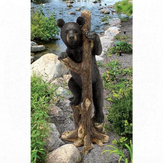 """Bashful Bear Cub"""" Statue"""