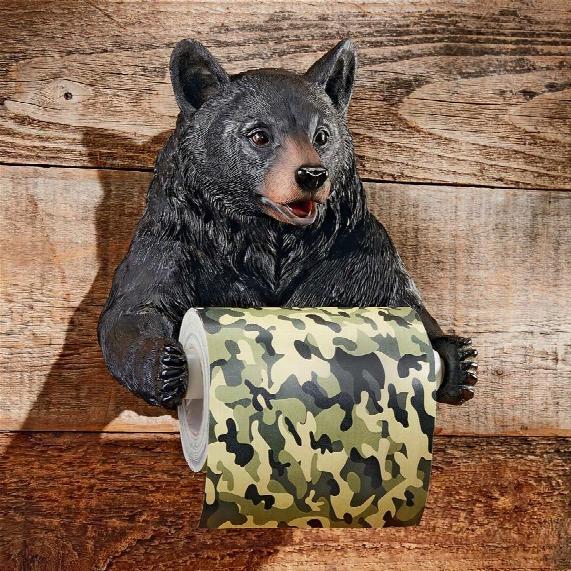 Bear-spenser Bathroom Toilet Paper Holder
