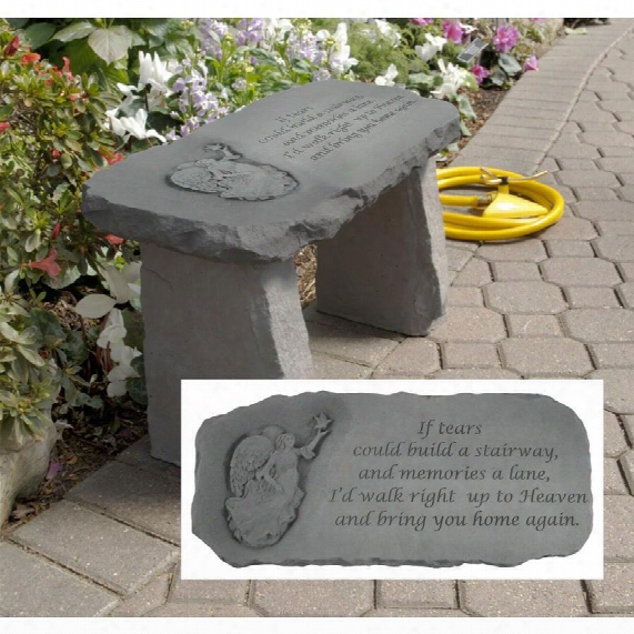 Bring You Home Memorial Garden Bench