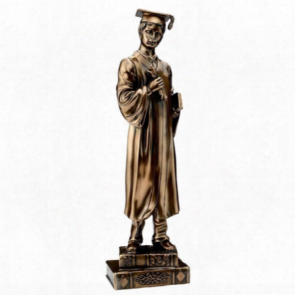 "Cap And Gown, Young Graduates"" Statue Collection: Male"