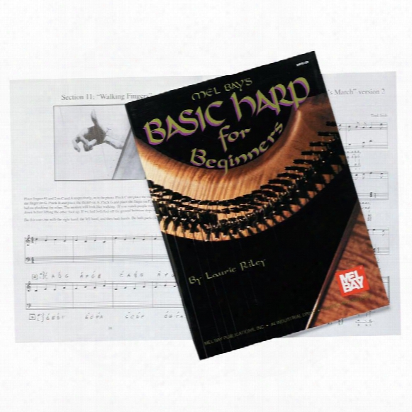 Celtic Rosewood Harp Beginners Book