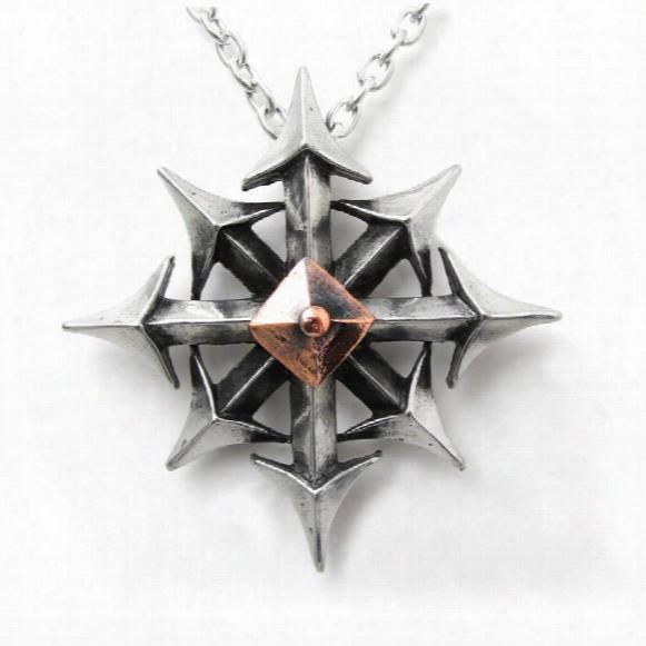 Chaostar Gothic Pendant By Alchemy Jewelry