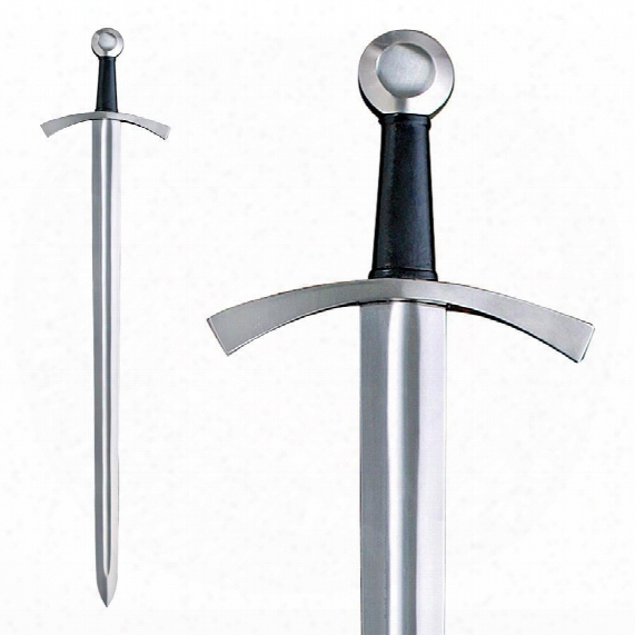 Classic Medieval Knight Sword: Sharpened