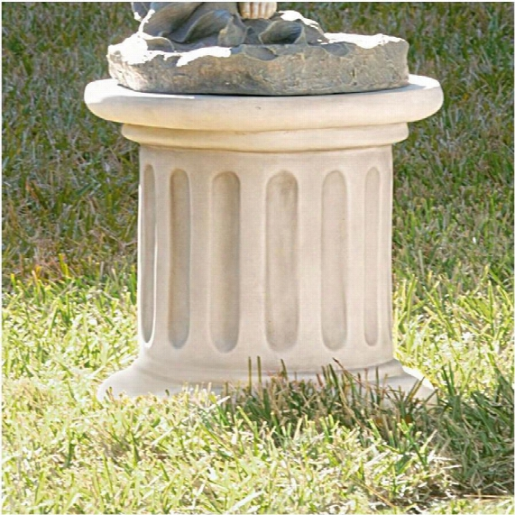 Classical Fluted Plinth Base