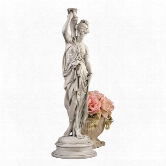 "Dione, The Divine Water Goddess"" Garden Statue: Medium"