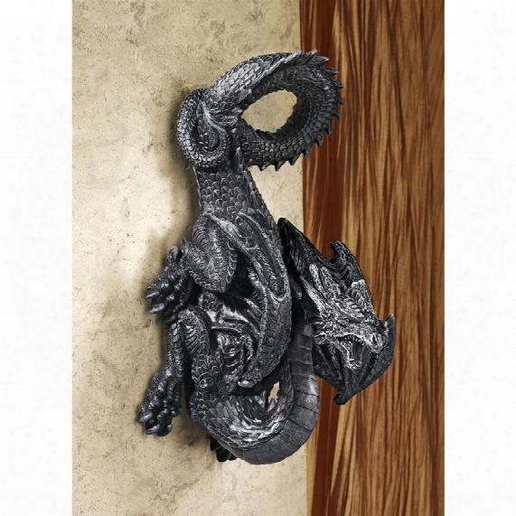"Dragon Perch"" Wall Sculpture"