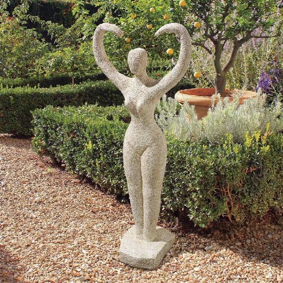 "Earth Goddess"" Garden Statue"