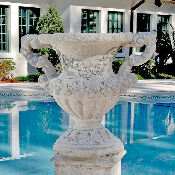 Elysee Palace Garden Urns: Set Of 2
