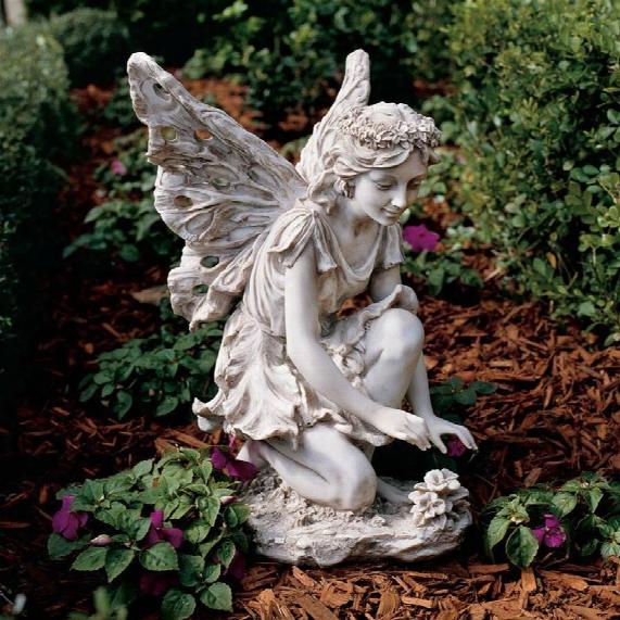 Fiona, The Flower Fairy Sculpture