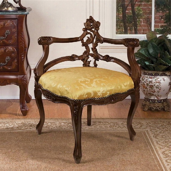 French Salon Corner Chair