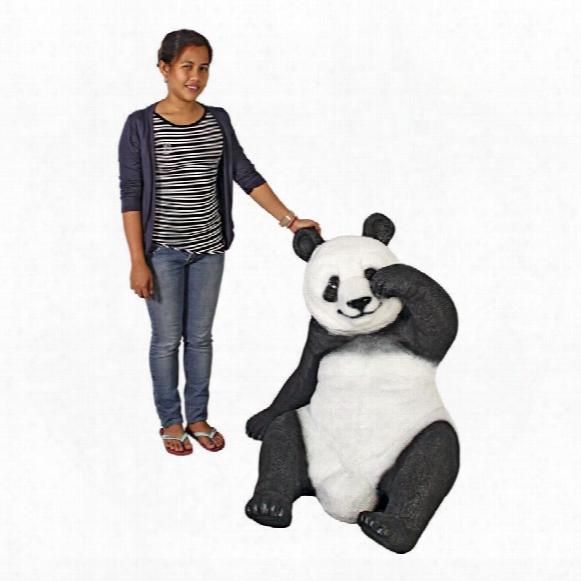 Gao Gao Giant Panda Statue