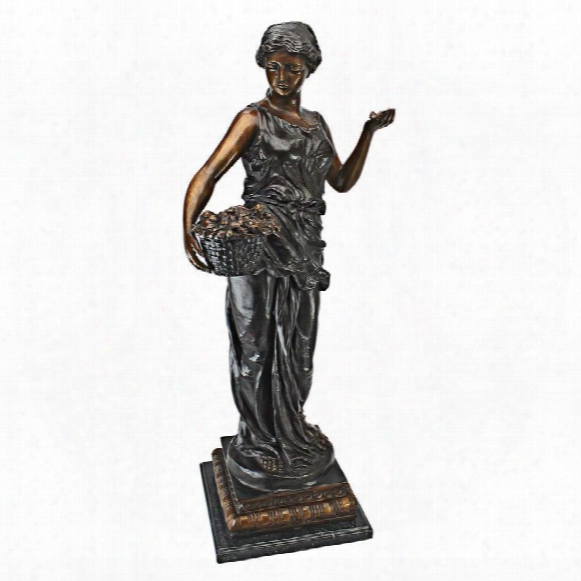 Goddess Of Nature Cast Bronze Garden Statue
