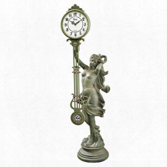 Goddess Of Time Pendulum Clock