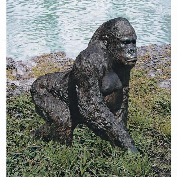Gorilla Of The Congo Statue