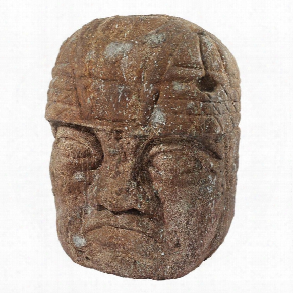 Grand Megalithic Olmec Head Statue