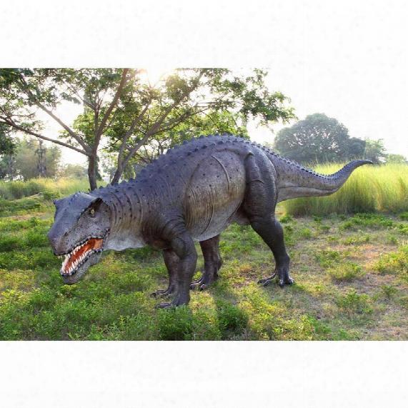 Grand-scale Postosuchus Dinosaur Statue