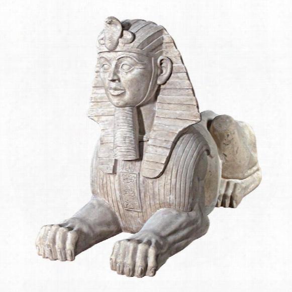 Grand Stone Egyptian Sphinx Statue