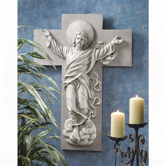 He Is Risen Christ Ascension Wall Engrave