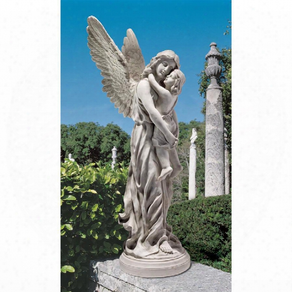 Heaven's Guardian Angel Garden Statue