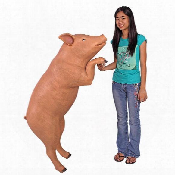 Hop Over Hog, Giant Pig Sculpture